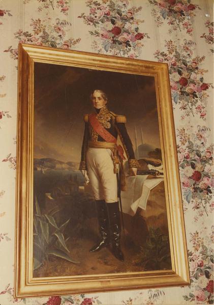 tableau : portrait du Maréchal Sébastiani, vue générale