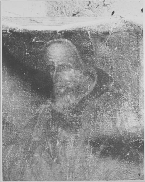 tableau : portrait du pape Jules II Della Rovere, vue générale