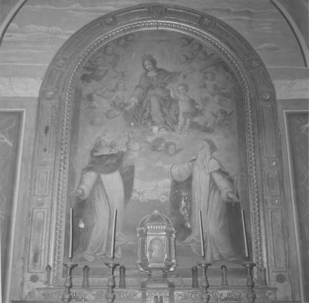 tableau : Donation du Rosaire, vue générale