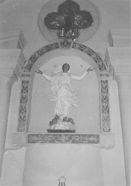 statue : l'Assomption, vue générale