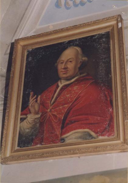 tableau, cadre : le pape Grégoire XIII, vue générale