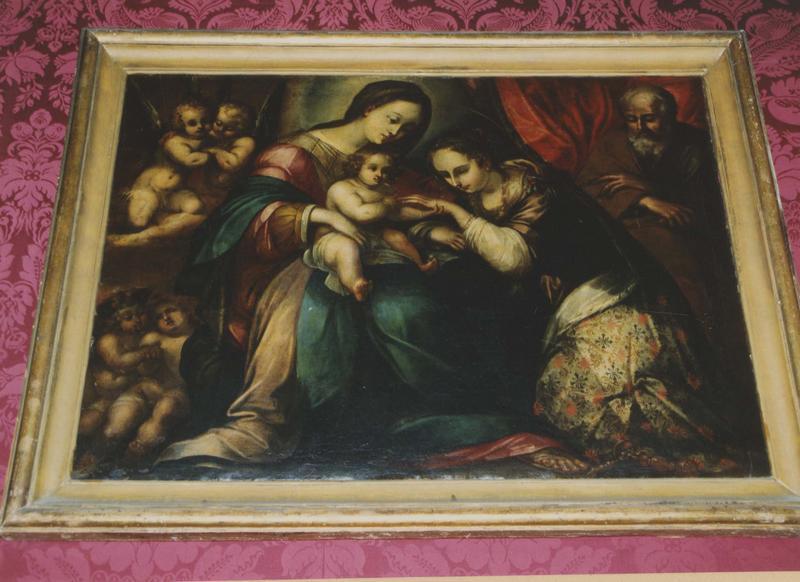 tableau, cadre : Le Mariage mystique de sainte Catherine de Sienne