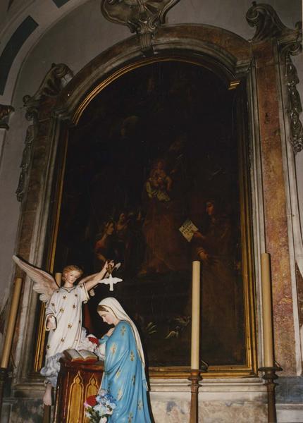 tableau, cadre : Saint Siméon présentant l'enfant Jésus au Temple