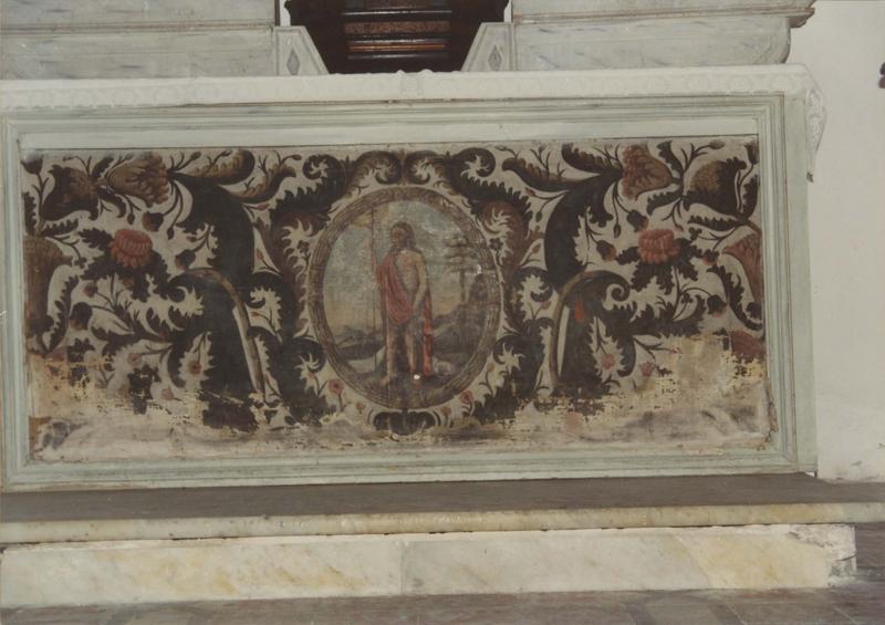 antependium : Saint Jean-Baptiste