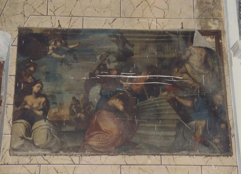 tableau : La Décapitation de saint Paul