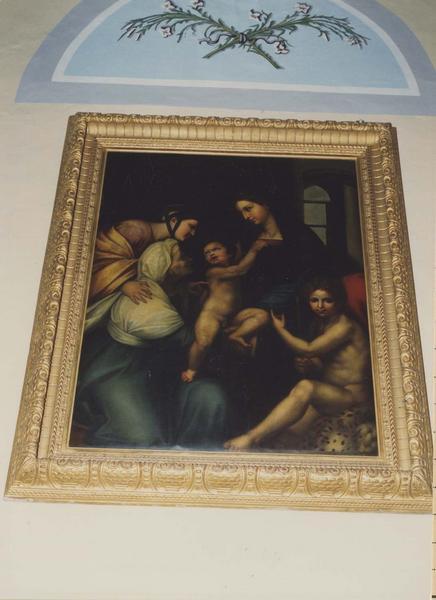 tableau, cadre : La Vierge à l'Enfant