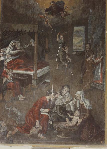 tableau : La Naissance de saint Jean-Baptiste