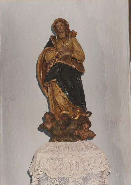 statue : L'Immaculée Conception