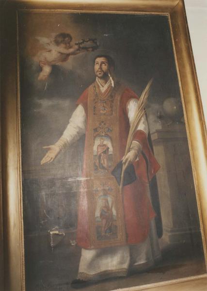 tableau, cadre : Le Couronnement de saint Laurent