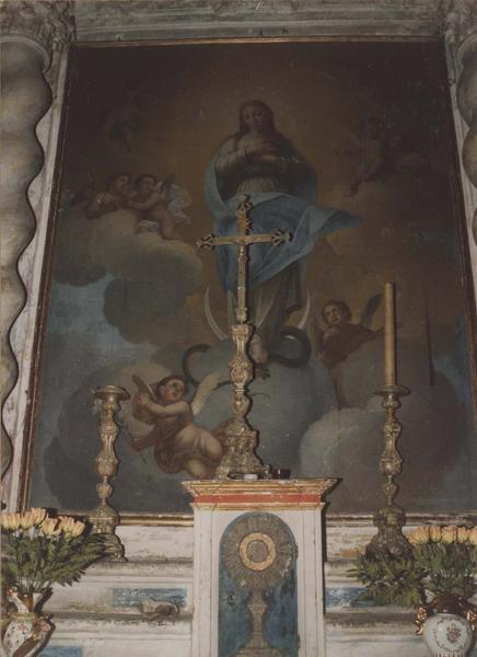 retable, tableau : L'Assomption de la Vierge