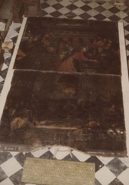 Tableau : La Cène, ou La Nuit où Jésus fut trahi
