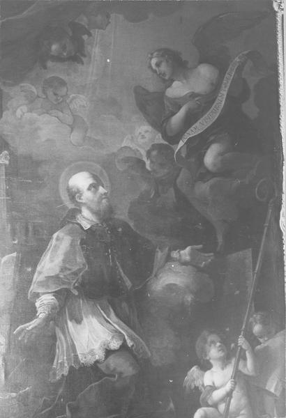 Tableau : l'Assomption de saint François de Sales