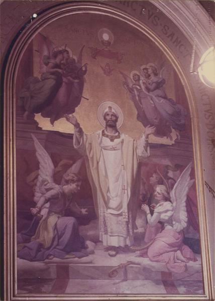 tableau : l'extase de saint Firmin, vue générale