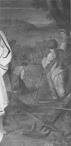 tableau : saint Marc, détail