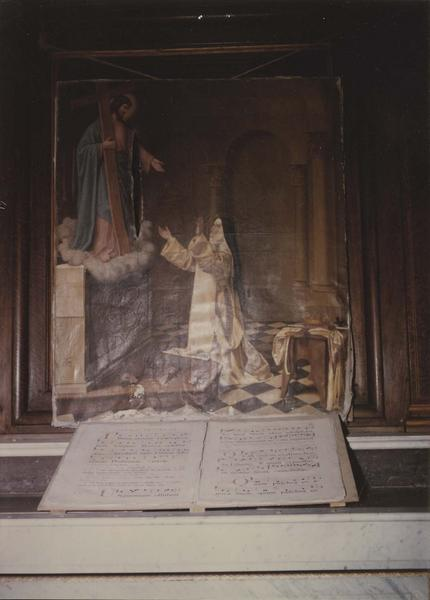 Tableau : Apparition du Christ à sainte Roseline