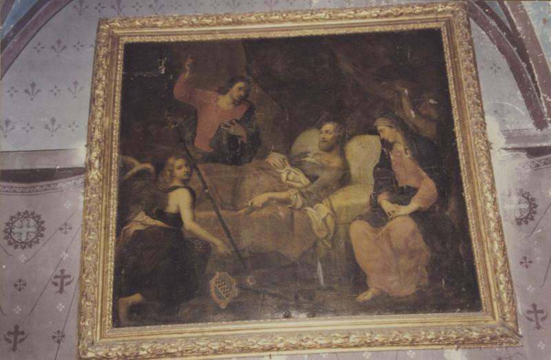 tableau : mort de saint Joseph, vue générale