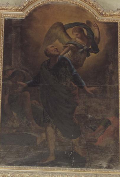 tableau : la délivrance de saint Pierre, vue générale