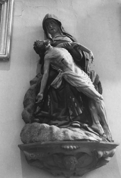 Statue (groupe sculpté) : Vierge de Pitié