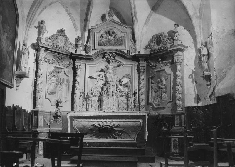 tabernacle, retable (maître-autel, tabernacle à ailes)