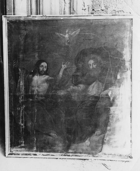 Tableau : la sainte Trinité