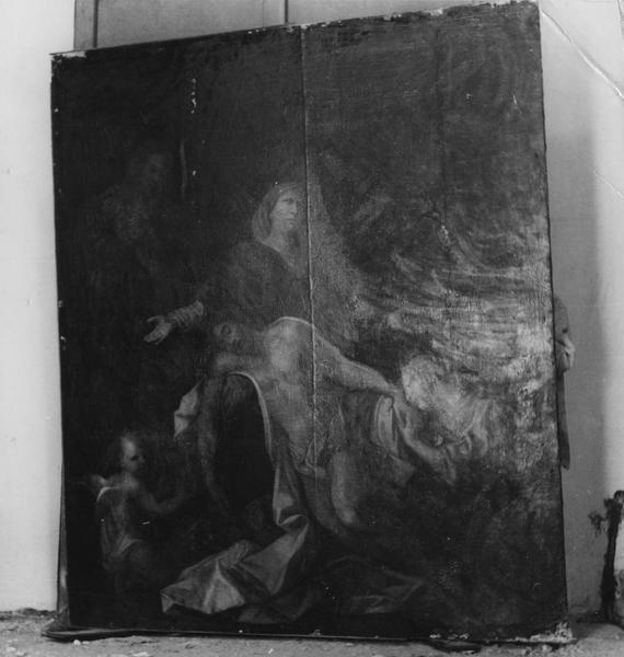 tableau : Vierge de Pitié