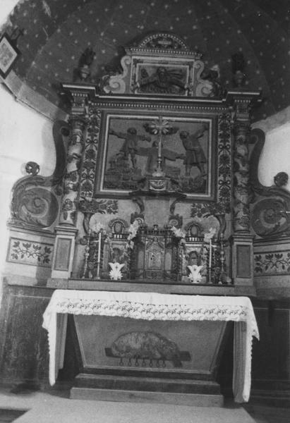 tabernacle, retable (retable à ailes, du maître-autel)