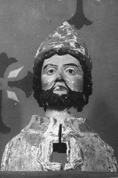 buste-reliquaire : saint Sabin