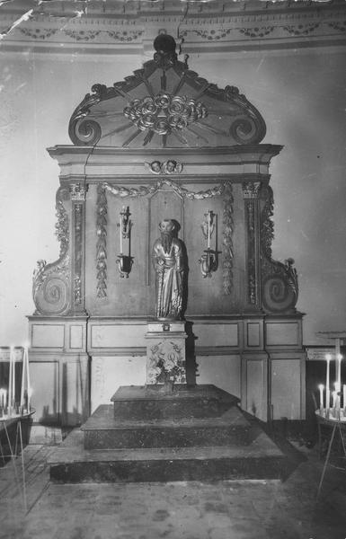 statue (petite nature) : saint Paul