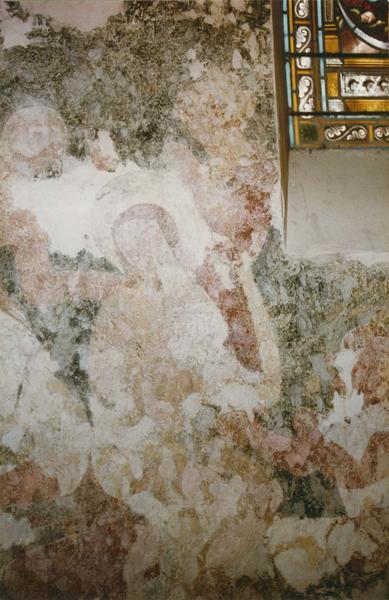 peintures monumentales : scènes de la Passion