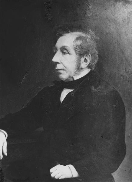 tableau : portrait du comte Charles de Rémusat