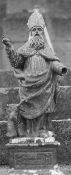 statue (statuette) : saint Blaise