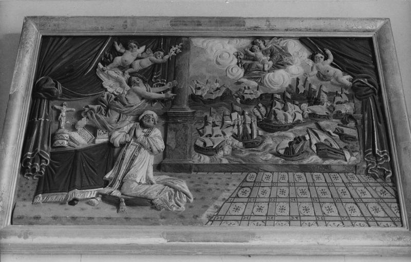 bas-relief : bataille de Lépante, Massacre des Innocents