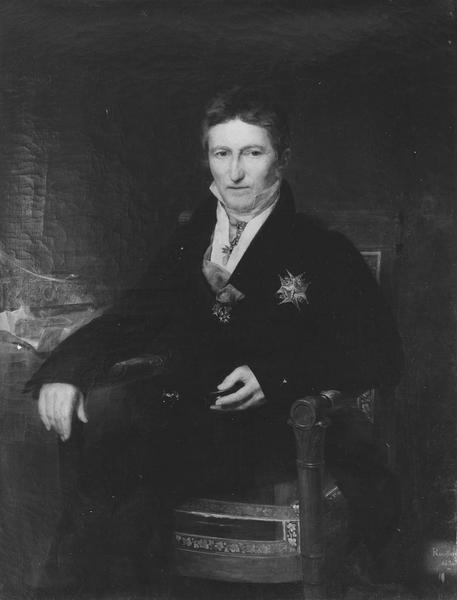 tableau : comte Joseph de Villèle