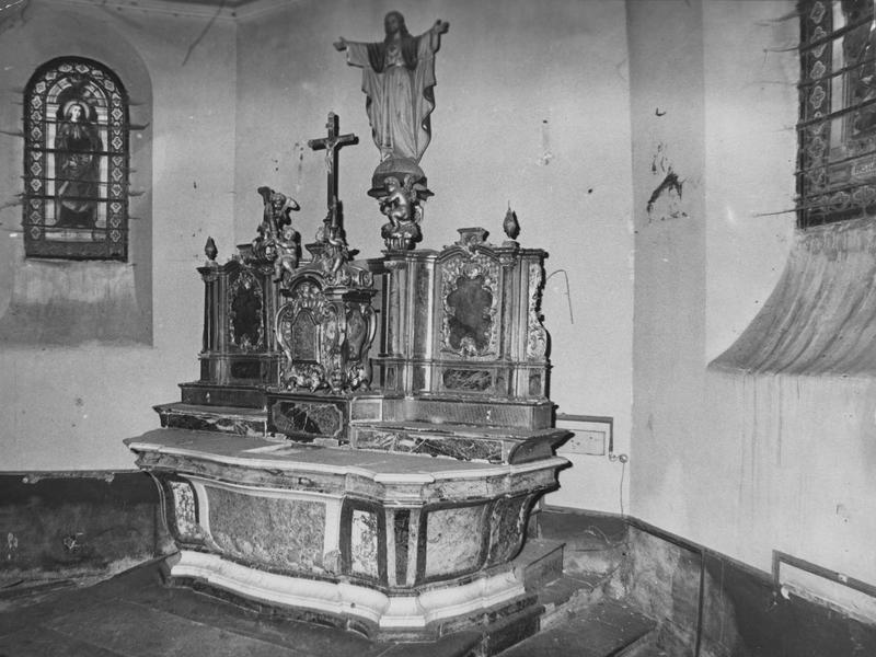 autel, tabernacle (maître-autel) style Louis XV