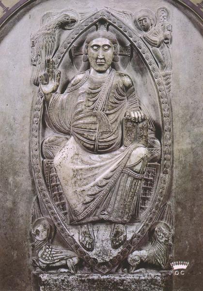 bas-relief : le Christ