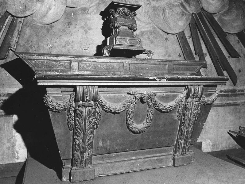 autel : provenant du bâteau de Saint-Elix