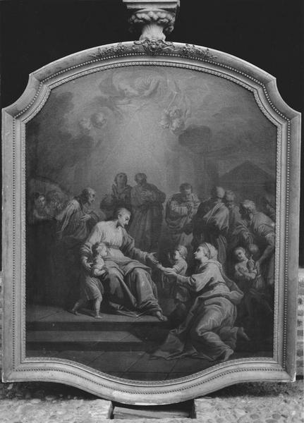 tableau : Jésus et les petits enfants