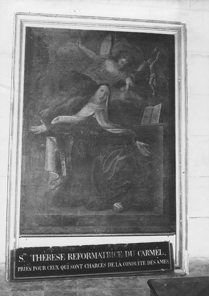 tableau : sainte Thérèse d'Avila