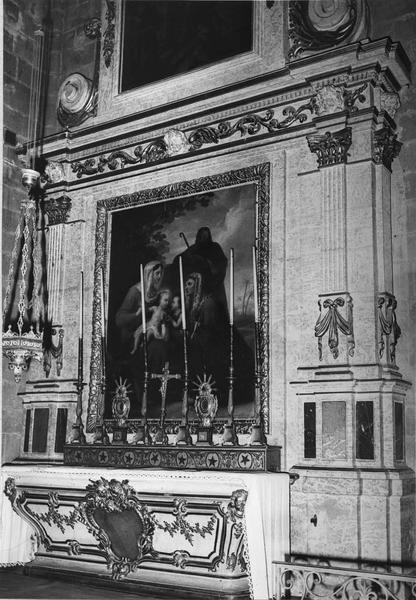 autel, retable de la chapelle de la Présentation