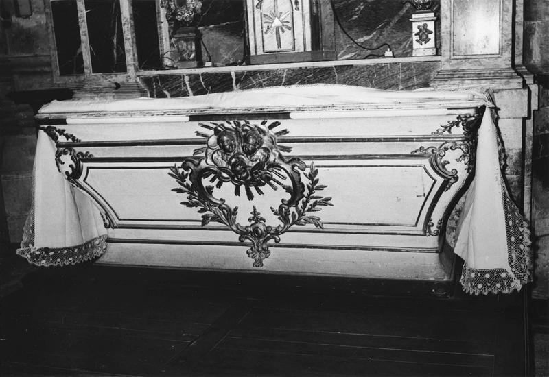 autel, retable de la chapelle du Coeur-de-Marie