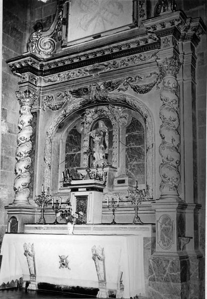 autel, retable de la chapelle Notre-Dame-de-Pitié