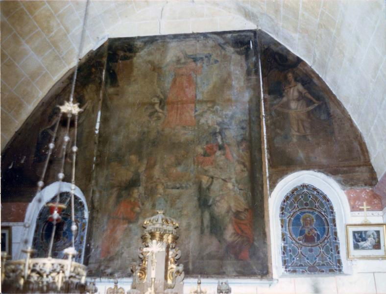 tableau (triptyque) : Assomption de la Vierge