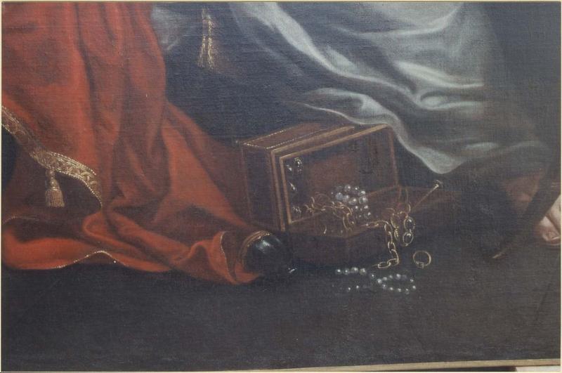 Tableau: sainte Madeleine, détail