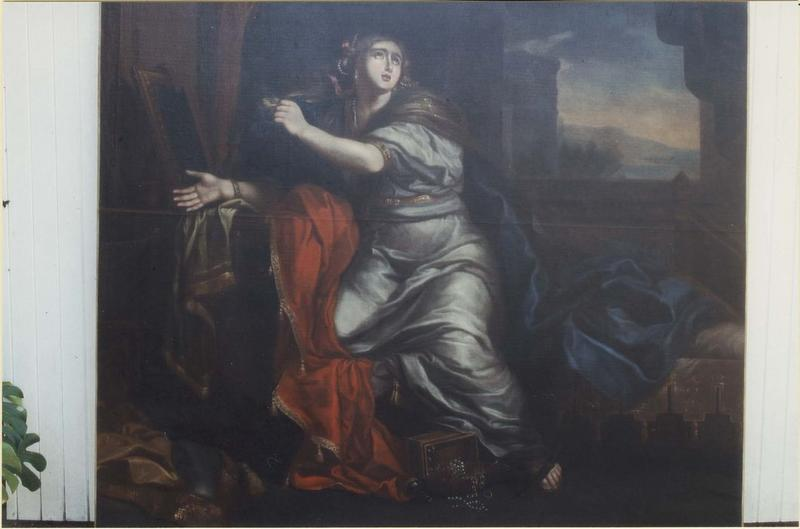 Tableau: sainte Madeleine, vue générale