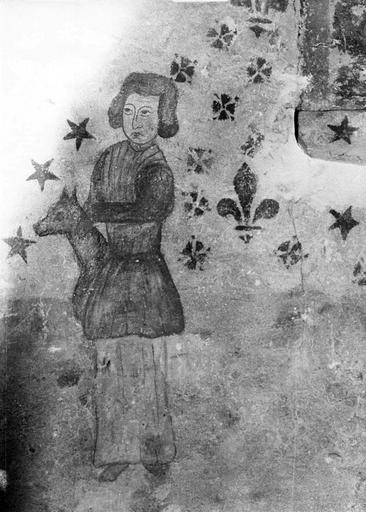 Peinture murale : histoire de sainte Quitterie