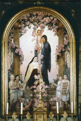 Tableau : Sainte Thérèse-de-l'Enfant-Jésus