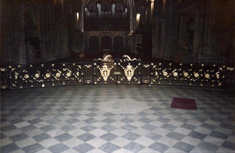 clôture liturgique (grille) style Louis XV
