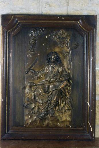 Bas-relief : saint Jean