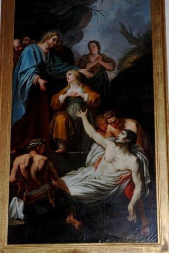 Tableau : Résurrection de Lazare (la)