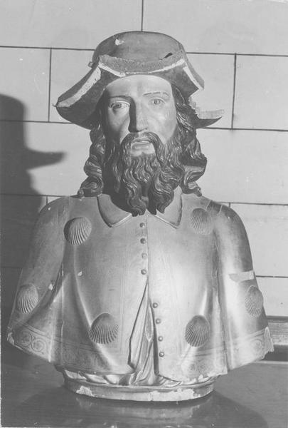 buste : Saint Jacques pélerin